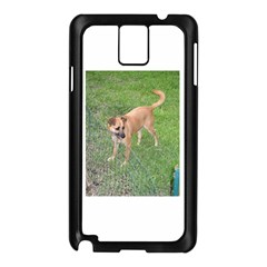 Carolina Dog Full 2 Samsung Galaxy Note 3 N9005 Case (Black)