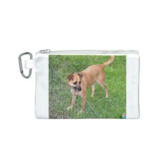 Carolina Dog Full 2 Canvas Cosmetic Bag (S)