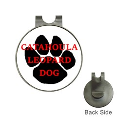 Catahoula Name Paw Hat Clips with Golf Markers