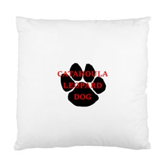 Catahoula Name Paw Standard Cushion Cases (Two Sides)