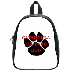 Catahoula Name Paw School Bags (Small)