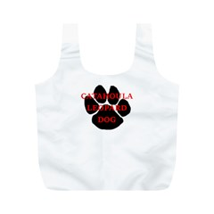 Catahoula Name Paw Full Print Recycle Bags (M)