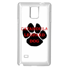 Catahoula Name Paw Samsung Galaxy Note 4 Case (White)