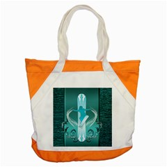 Snowboarder With Snowboard Accent Tote Bag