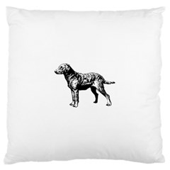 Chesapeake Bay Retriever Drawing Large Cushion Cases (One Side)