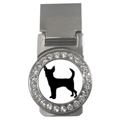 Chihuahua Silhouette Money Clips (CZ)