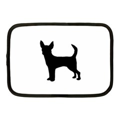 Chihuahua Silhouette Netbook Case (Medium)