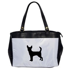 Chihuahua Silhouette Office Handbags