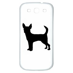 Chihuahua Silhouette Samsung Galaxy S3 S III Classic Hardshell Back Case