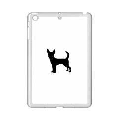 Chihuahua Silhouette iPad Mini 2 Enamel Coated Cases