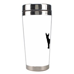 Chihuahua Silhouette Stainless Steel Travel Tumblers