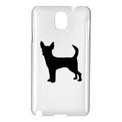 Chihuahua Silhouette Samsung Galaxy Note 3 N9005 Hardshell Case