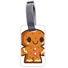 Gingerman Luggage Tags (Two Sides)