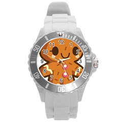 Gingerman Round Plastic Sport Watch (L)