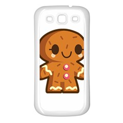 Gingerman Samsung Galaxy S3 Back Case (White)