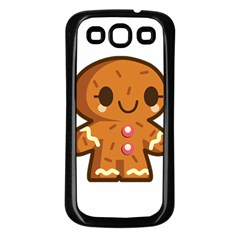 Gingerman Samsung Galaxy S3 Back Case (Black)