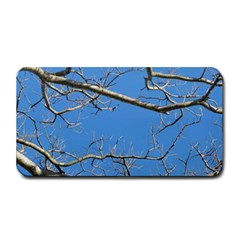 Leafless Tree Branches Against Blue Sky Medium Bar Mats
