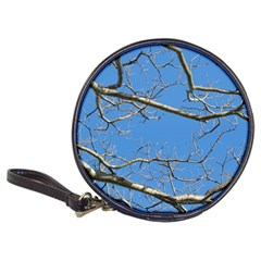 Leafless Tree Branches Against Blue Sky Classic 20-CD Wallets