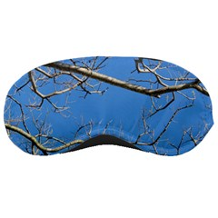 Leafless Tree Branches Against Blue Sky Sleeping Masks