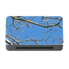 Leafless Tree Branches Against Blue Sky Memory Card Reader with CF