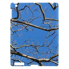 Leafless Tree Branches Against Blue Sky Apple iPad 3/4 Hardshell Case