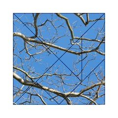 Leafless Tree Branches Against Blue Sky Acrylic Tangram Puzzle (6  x 6 )