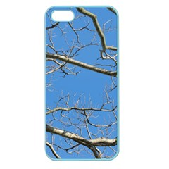 Leafless Tree Branches Against Blue Sky Apple Seamless iPhone 5 Case (Color)