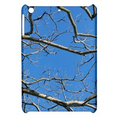 Leafless Tree Branches Against Blue Sky Apple iPad Mini Hardshell Case