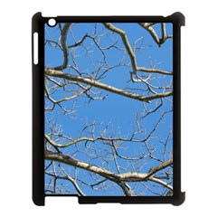 Leafless Tree Branches Against Blue Sky Apple iPad 3/4 Case (Black)