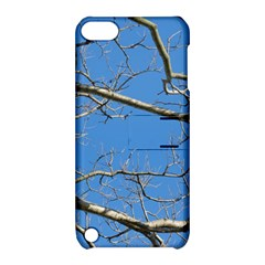 Leafless Tree Branches Against Blue Sky Apple iPod Touch 5 Hardshell Case with Stand