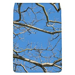 Leafless Tree Branches Against Blue Sky Flap Covers (L)