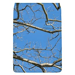 Leafless Tree Branches Against Blue Sky Flap Covers (S)