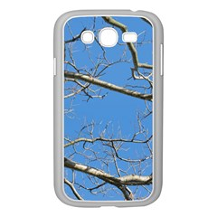 Leafless Tree Branches Against Blue Sky Samsung Galaxy Grand DUOS I9082 Case (White)