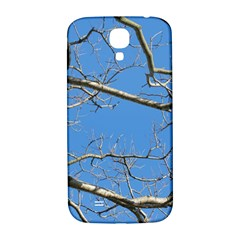 Leafless Tree Branches Against Blue Sky Samsung Galaxy S4 I9500/I9505  Hardshell Back Case