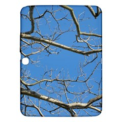 Leafless Tree Branches Against Blue Sky Samsung Galaxy Tab 3 (10.1 ) P5200 Hardshell Case