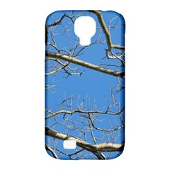 Leafless Tree Branches Against Blue Sky Samsung Galaxy S4 Classic Hardshell Case (PC+Silicone)