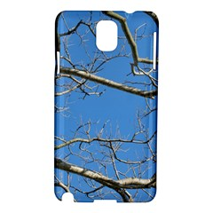 Leafless Tree Branches Against Blue Sky Samsung Galaxy Note 3 N9005 Hardshell Case