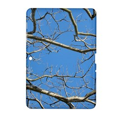 Leafless Tree Branches Against Blue Sky Samsung Galaxy Tab 2 (10.1 ) P5100 Hardshell Case