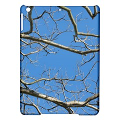 Leafless Tree Branches Against Blue Sky iPad Air Hardshell Cases