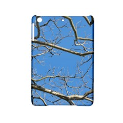 Leafless Tree Branches Against Blue Sky iPad Mini 2 Hardshell Cases