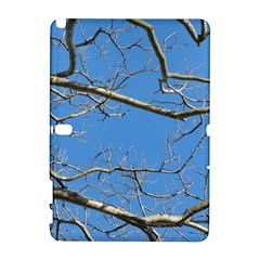 Leafless Tree Branches Against Blue Sky Samsung Galaxy Note 10.1 (P600) Hardshell Case