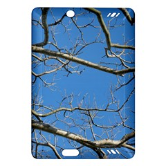 Leafless Tree Branches Against Blue Sky Kindle Fire HD (2013) Hardshell Case