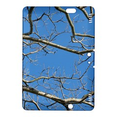 Leafless Tree Branches Against Blue Sky Kindle Fire HDX 8.9  Hardshell Case
