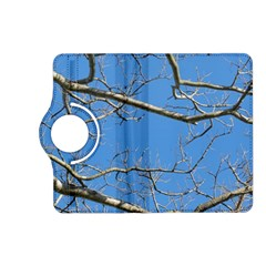Leafless Tree Branches Against Blue Sky Kindle Fire HD (2013) Flip 360 Case