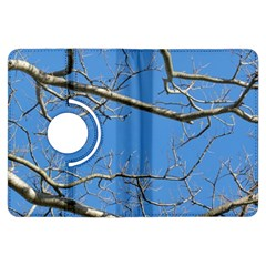 Leafless Tree Branches Against Blue Sky Kindle Fire HDX Flip 360 Case