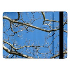 Leafless Tree Branches Against Blue Sky Samsung Galaxy Tab Pro 12.2  Flip Case