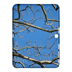 Leafless Tree Branches Against Blue Sky Samsung Galaxy Tab 4 (10.1 ) Hardshell Case