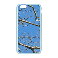 Leafless Tree Branches Against Blue Sky Apple Seamless iPhone 6/6S Case (Color)