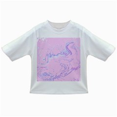 Unique Marbled 2 Baby Pink Infant/Toddler T-Shirts