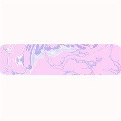 Unique Marbled 2 Baby Pink Large Bar Mats
